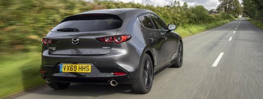 First drive: Mazda3 Skyactiv-X. Image by Mazda UK.