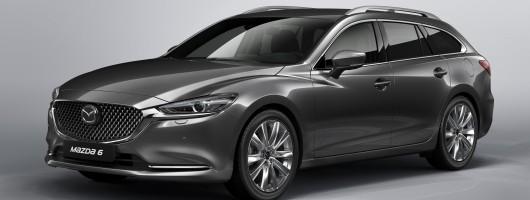 Tweaked Mazda6 set for European debut. Image by Mazda.