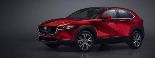 Mazda shoehorns new CX-30 into crossover line-up. Image by Mazda.