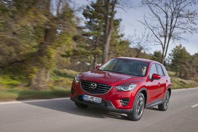 First drive: 2015MY Mazda CX-5. Image by Mazda.