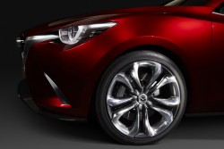 2014 Mazda Hazumi concept. Image by Mazda.