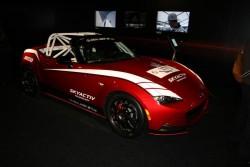 2016 Mazda MX-5 racer. Image by Newspress.