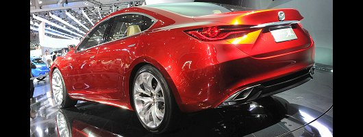 Concept star previews next Mazda6. Image by United Pictures.
