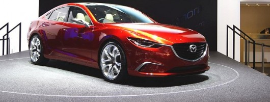 Geneva 2012: Promising Mazda Takeri concept. Image by Newspress.