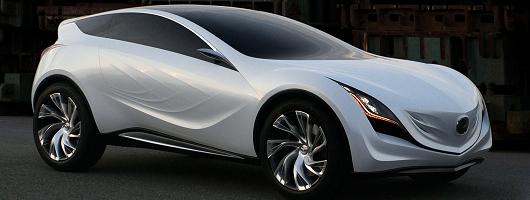 Moscow sees unveiling of Mazda Kazamai. Image by Mazda.