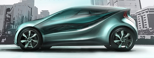 Mazda adds another concept to its collection. Image by Mazda.