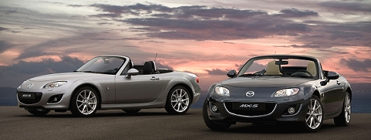 Mazda facelifts MX-5. Image by Mazda.