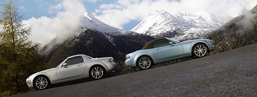 Supercharged Mazda MX-5 now available. Image by Mazda.