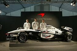 McLaren will be hoping to mount a serious challenge on Ferrari. Image by McLaren. Click here for a larger image.