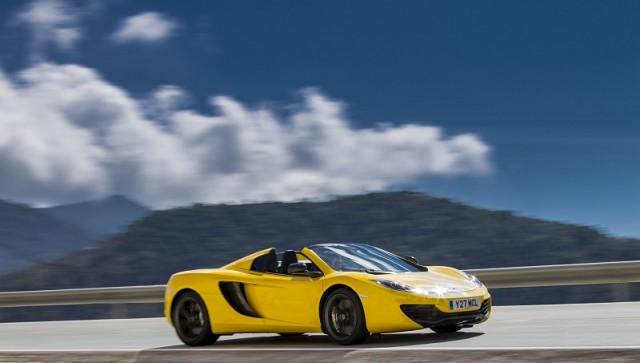 First drive: McLaren 12C Spider. Image by McLaren.