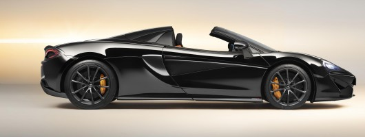 McLaren launches 570S Spider Design Editions. Image by McLaren.