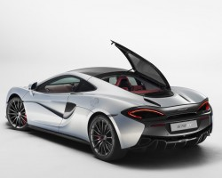 Incoming: McLaren 570GT. Image by McLaren.