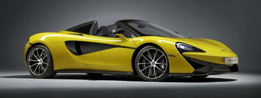 Spider scuttles in to McLaren 570S line-up. Image by McLaren.