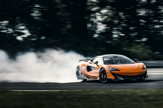 First drive: McLaren 600LT coupe. Image by McLaren.