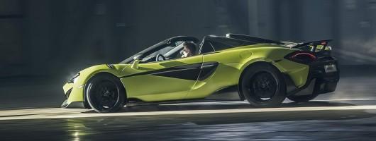 McLaren converts 600LT into Spider variant. Image by McLaren.