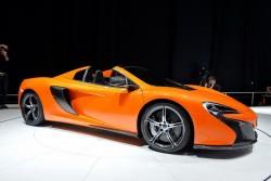 2014 McLaren 650S Spider. Image by Newspress.