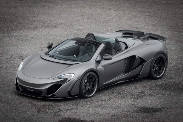 FAB takes on McLaren 650S. Image by FAB Design.