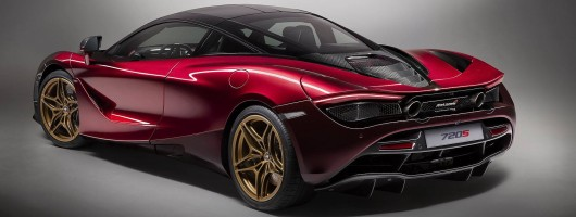 McLaren Special Operations reveals bespoke 720S. Image by McLaren.