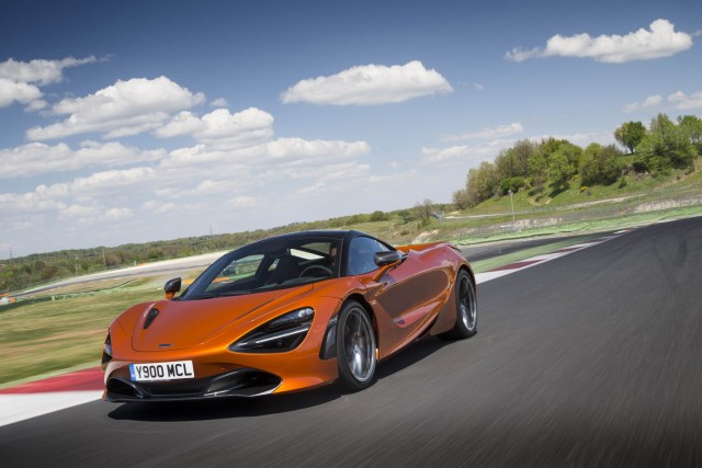 First drive: McLaren 720S. Image by McLaren.