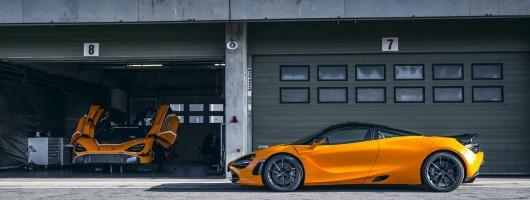 McLaren 720S gets Track Pack. Image by McLaren.