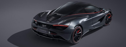 McLaren gives the 720S a stealthy makeover. Image by McLaren.