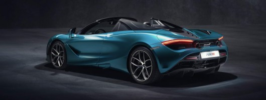 McLaren opens up on 720S Spider. Image by McLaren.