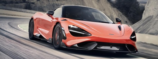 McLaren committed to the lighter touch. Image by McLaren.