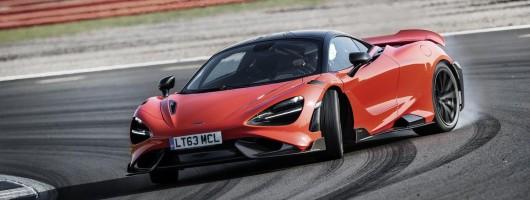 First drive: McLaren 765LT. Image by McLaren.