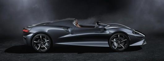 McLaren's Elva is an 815hp hyper-roadster. Image by McLaren.
