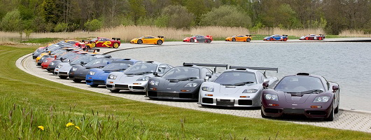 Twenty years of the McLaren F1. Image by McLaren.