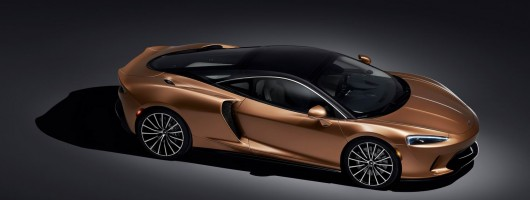 McLaren calls its new grand tourer... the GT. Image by McLaren.