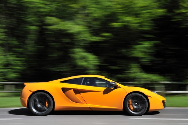 First drive: McLaren MP4-12C. Image by Max Earey.