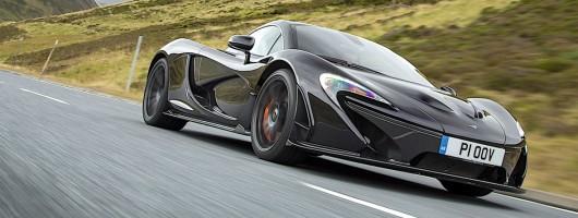 First Drive: McLaren P1. Image by McLaren.