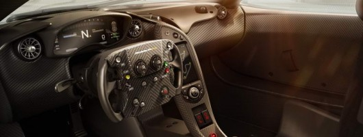 Look inside the McLaren P1 GTR. Image by McLaren.