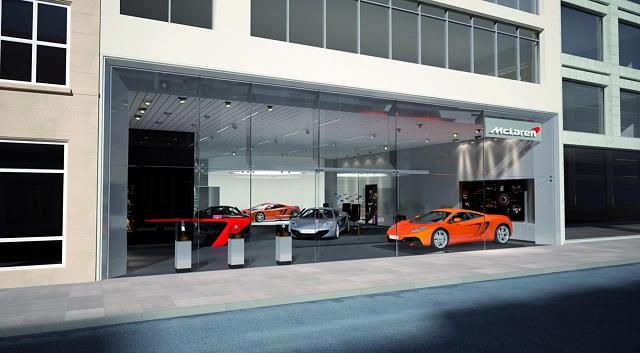 McLaren reveals supercar dealers. Image by McLaren.