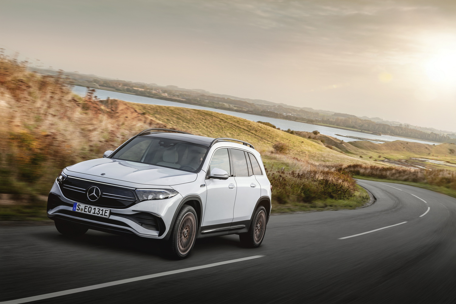 Mercedes adds EQB to EV line-up. Image by Mercedes AG.