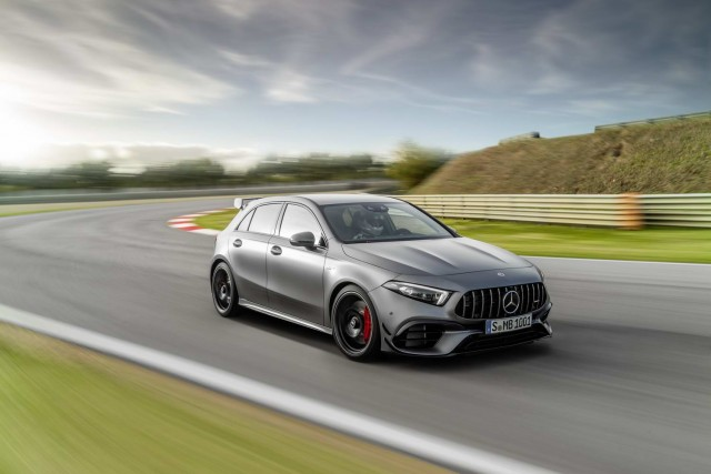 Driven: Mercedes-AMG A 45 S Plus. Image by Mercedes-AMG.