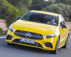2019 Mercedes-AMG A 35. Image by Mercedes-AMG.