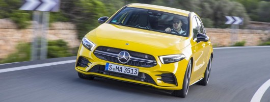 First drive: Mercedes-AMG A 35. Image by Mercedes-AMG.