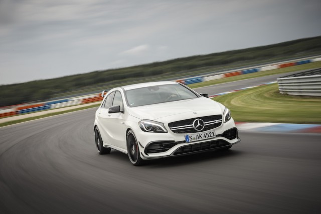 First drive: Mercedes-AMG A 45 4Matic. Image by Mercedes-Benz.