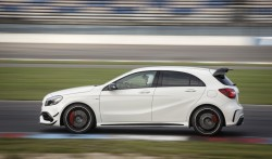 2015 Mercedes-AMG A 45. Image by Mercedes-Benz.
