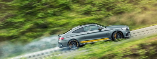 First UK drive: Mercedes-AMG C 63 S Coupe Edition 1. Image by Mercedes-AMG.