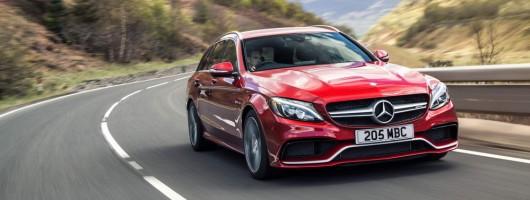 Driven: Mercedes-AMG C 63 Estate. Image by Richard Pardon.