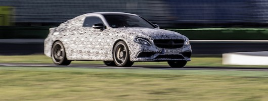 Mercedes-AMG C 63 Coup� nears completion. Image by Mercedes-AMG.