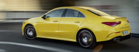 Mercedes-AMG swells 35 ranks with new CLA. Image by Mercedes-AMG.