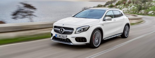 Mercedes revises GLA, boosts power of AMG model. Image by Mercedes-AMG.