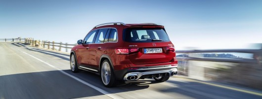 Mercedes-AMG hots up GLB SUV. Image by Mercedes AG.