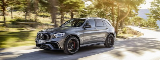 Merc's GLC thinks it's an AMG GT. Image by Mercedes-AMG.