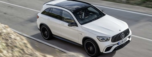Mercedes-AMG tweaks the GLC 63 group. Image by Mercedes-AMG.