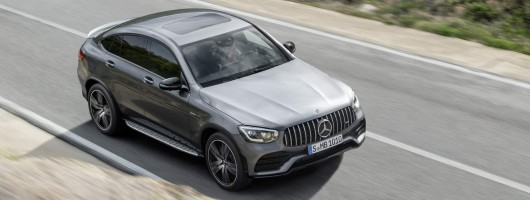 Facelift for Mercedes-AMG GLC 43. Image by Mercedes-AMG.